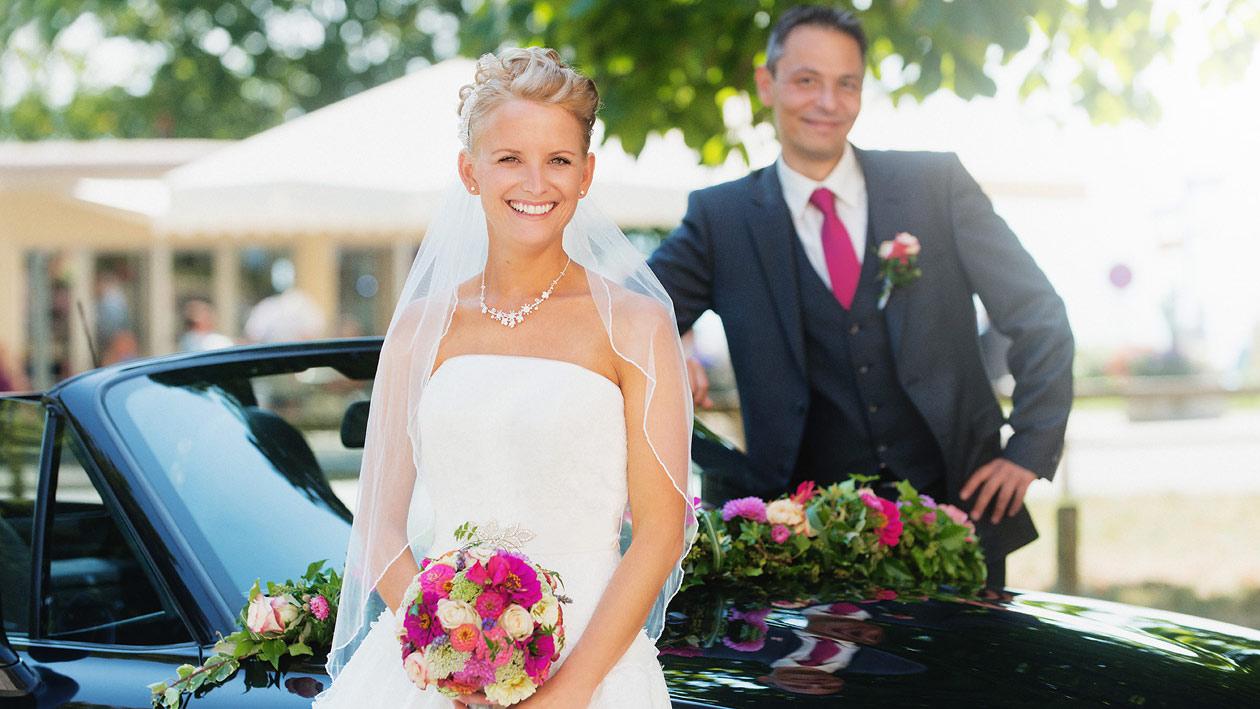 Hochzeitsaufnahmen - Gemeinsam zu zweit