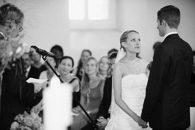 Hochzeit in Freiburg, Braut und Bräutigam