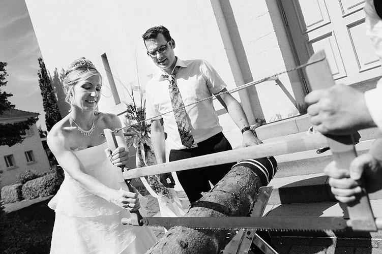 Hochzeitsreportage bei Achern, Kirche