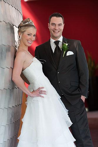 Hochzeitsportraits in Umland Achern, Portrait Brautpaar
